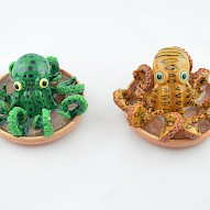 small clay octopus