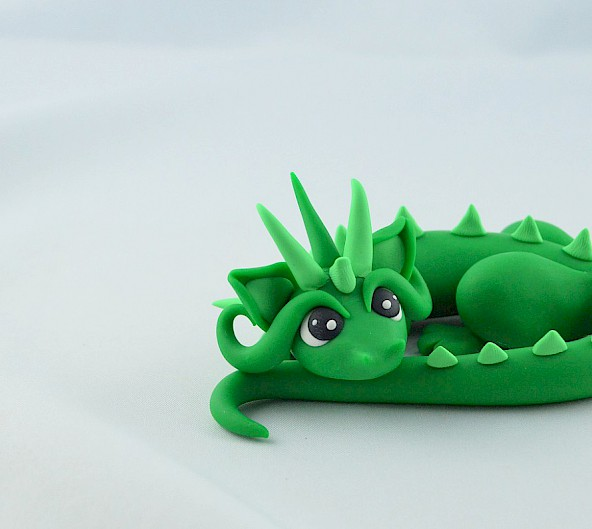 little green dragon