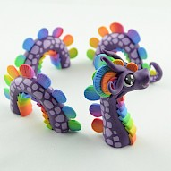 Purple Rainbow Water Dragon